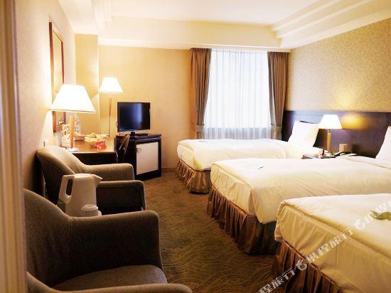 台北神旺大飯店(San Want Hotel)精緻3人房