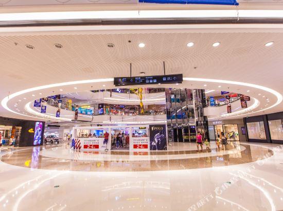 星倫萬達廣場主題公寓(廣州長隆店)(Xinlun Free Hotel International  WanDa)公共區域