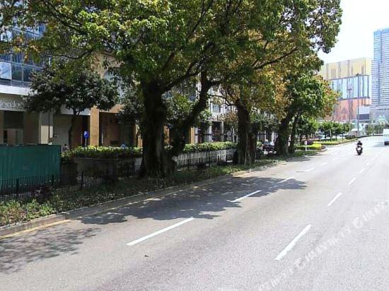 澳門新麗華酒店(Sintra Hotel)周邊街景
