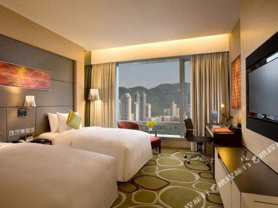 香港銅鑼灣皇冠假日酒店(Crowne Plaza Hong Kong Causeway Bay)貴賓樓客房