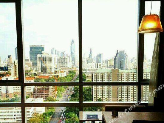 曼谷帕色哇公主酒店(Pathumwan Princess Hotel)眺望遠景
