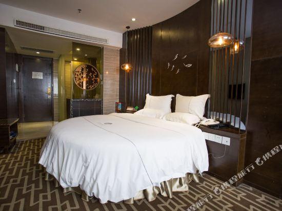 迎商·雅蘭酒店(廣州北京路店)豪華蜜月圓床房