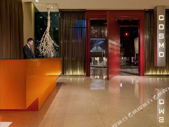 香港麗悅酒店(Cosmo Hotel)公共區域
