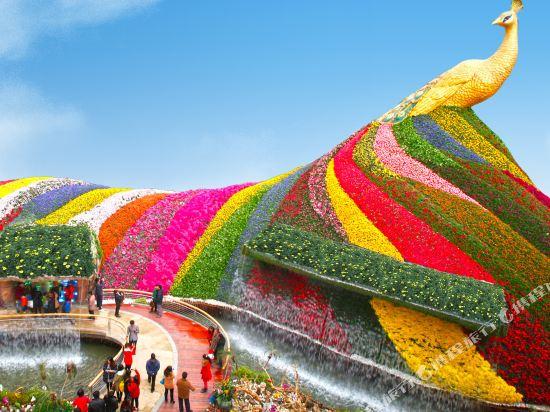 昆明花之城豪生國際大酒店(蘭花苑)(Howard Johnson Flower City Hotel Kunming (Lanhua Yuan))公共區域