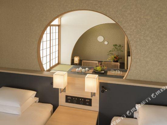 福岡海鷹希爾頓酒店(Hilton Fukuoka Sea Hawk)日西式套房