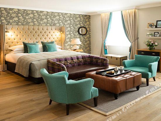 倫敦肯辛頓千禧國際百麗酒店(The Bailey's Hotel London)精致套房