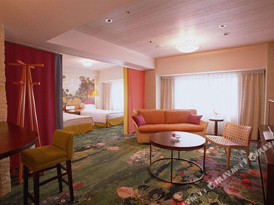 東京新大谷飯店花園樓(Hotel New Otani Tokyo Garden Tower)豪華三人房