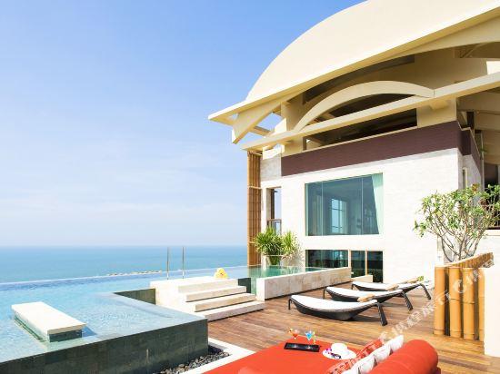 盛泰瀾幻影海灘度假村(Centara Grand Mirage Beach Resort Pattaya)Royal Suite rooftop terrace