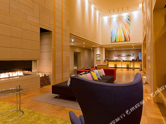 札幌三位神大酒店(Hotel Resol Trinity Sapporo)公共區域