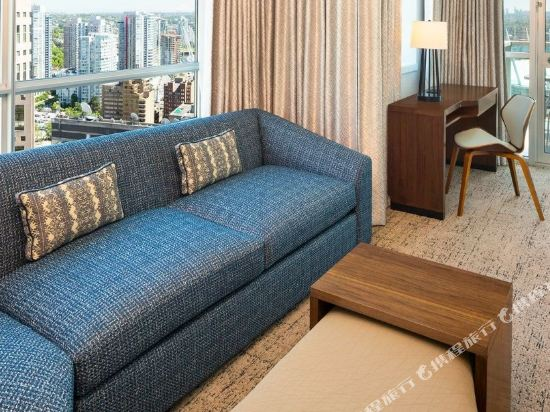 温哥華威斯汀大酒店(The Westin Grand, Vancouver)景觀高級套房(帶陽台)