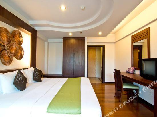 芭堤雅黃金海酒店(Golden Sea Pattaya)精緻套房
