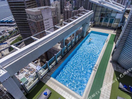 香港今旅酒店(Hotel Jen Hong Kong)室外游泳池