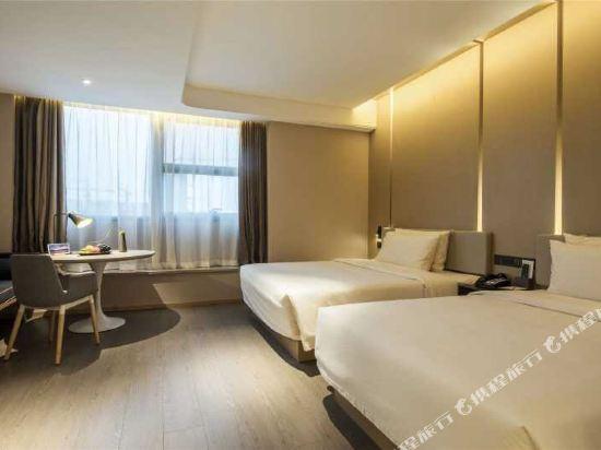 杭州濱江亞朵S網易嚴選酒店(Atour Hotel (Hangzhou Riverside))網易嚴選雙床房