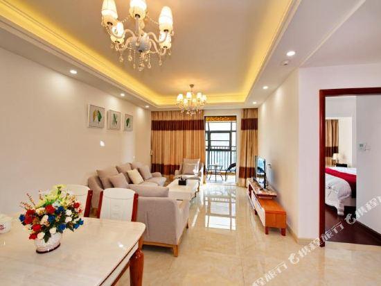 Q加·泰萊童趣主題公寓(珠海橫琴海洋王國店)(Q+ Tailai Tongqu Theme Apartment (Zhuhai Chimelong Ocean Kingdom))琴海灣歐式舒適二房套房