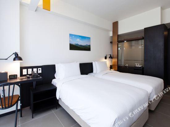首爾明洞喜普樂吉酒店(原首爾黃金鬱金香M酒店)(Sotetsu Hotels The SPLAISIR Seoul Myeongdong)高級雙床房