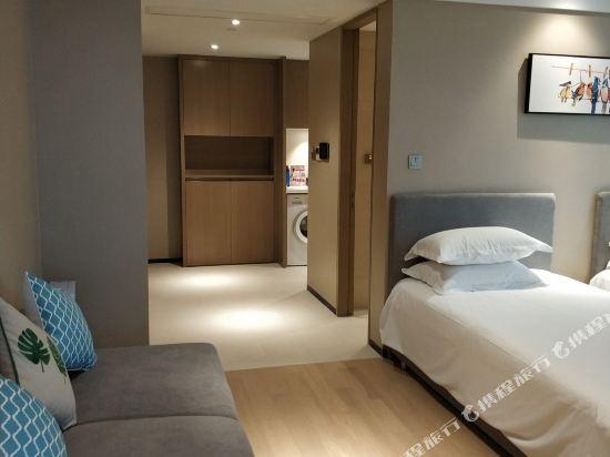 杭州印泰晤士·庭悅酒店(Thames Tingyue Hotel)庭悅江景家庭套房
