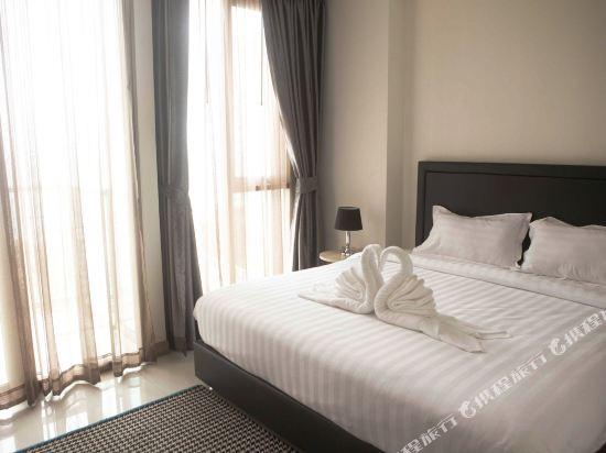阿縵芭提雅天空之城公寓式酒店(Among Riviera City of Sky Pattaya)豪華海景房