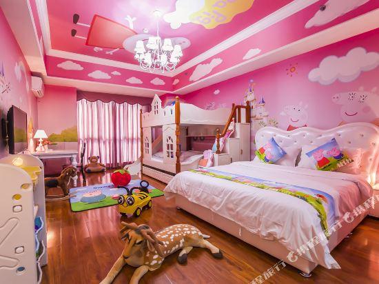 夢幻樂園親子主題公寓(廣州萬達廣場店)(Dreamland Family Theme Apartment (Guangzhou Wanda Plaza))小豬佩奇親子滑梯三床房