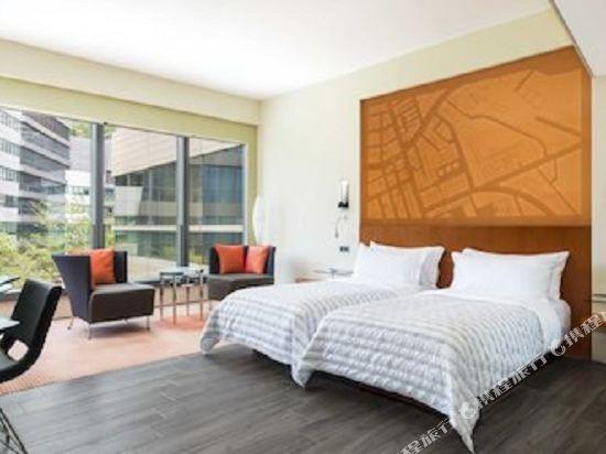 香港數碼港艾美酒店(Le Méridien Cyberport)智能雙床間 - 帶2張單人床
