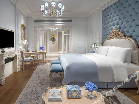 佛山羅浮宮索菲特酒店(Sofitel Foshan)至尊套房新中式風格