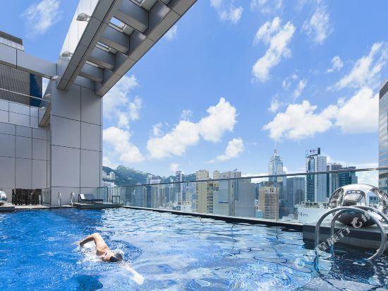 香港銅鑼灣皇冠假日酒店(Crowne Plaza Hong Kong Causeway Bay)室外游泳池