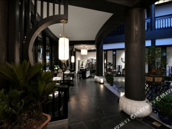 夢景望月精品酒店(昆明南屏步行街店)(Mengjing Wangyue Boutique Hotel (Kunming Nanping Pedestrian Street))院子