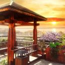 荊州平行世界庭院江景酒店