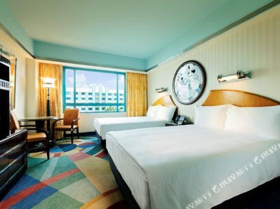 迪士尼好萊塢酒店(Disney's Hollywood Hotel)高層豪華房