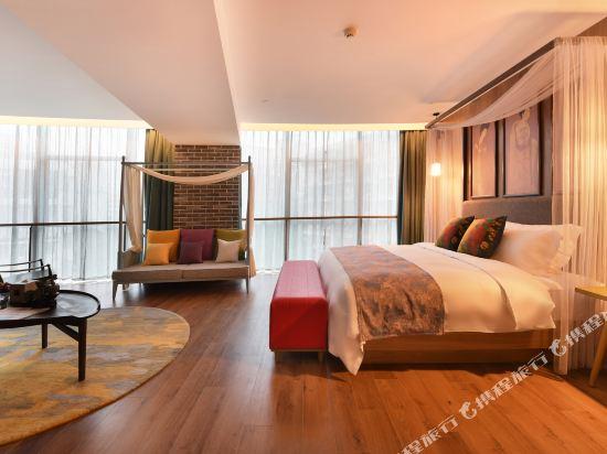 美豪麗致酒店(廣州五羊新城店)城景花園套房