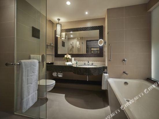 哥打京那巴魯香格里拉丹絨亞路酒店(Shangri-La's Tanjung Aru Resort & Spa Kota Kinabalu)基納巴盧樓豪華海景套房