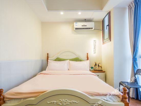 星倫萬達廣場主題公寓(廣州長隆店)(Xinlun Free Hotel International  WanDa)地中海式情侶主題迷你房