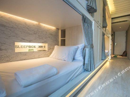 素坤逸膠囊22號旅舍(Sleepbox Sukhumvit 22 Hostel)4人混合宿舍(一張床位)