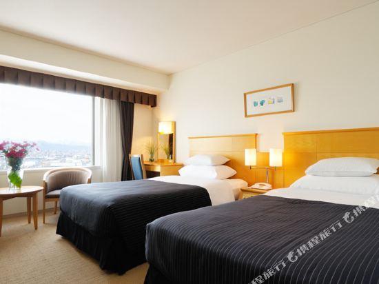 札幌艾米西亞酒店(Hotel Emisia Sapporo)天際雙床房
