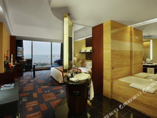 珠海來魅力假日酒店(Charming Holiday Hotel)豪華海景大床房