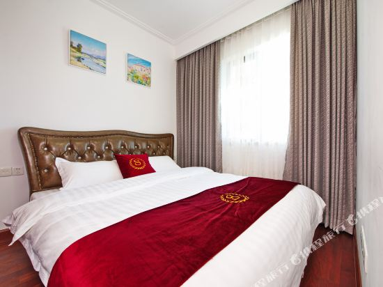 泰萊尚寓度假公寓(珠海海洋王國口岸店)(Tailai Shangyu Holiday Apartment (Zhuhai Ocean Kingdom Port))歐式兩房兩廳