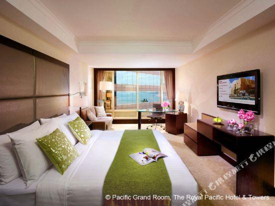 香港皇家太平洋酒店(The Royal Pacific Hotel and Towers)超豪華客房