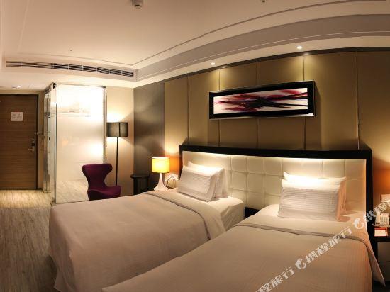 高雄蒂亞飯店-愛河館(Hotel-D)豪華雙床房