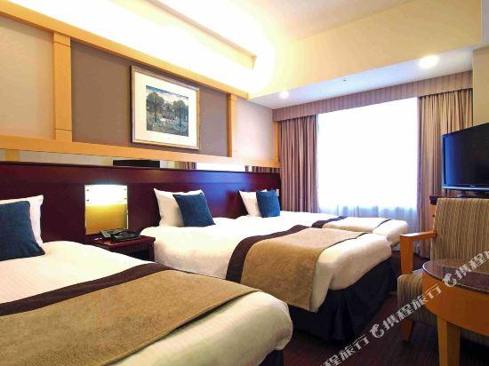 京阪環球塔酒店(Hotel Keihan Universal Tower)標準三人房