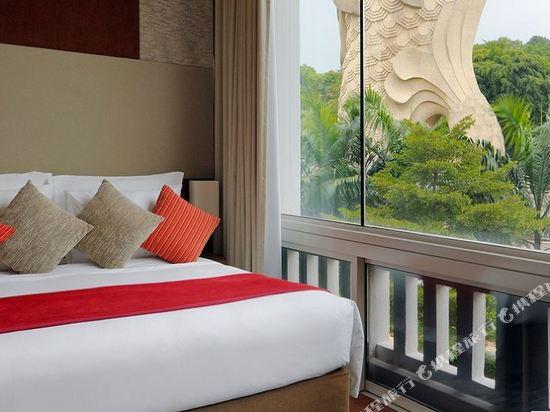 新加坡聖淘沙艾美酒店(Le Méridien Sentosa Singapore)魚尾獅套房