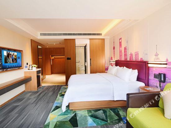 上海虹橋國家會展中心希爾頓歡朋酒店(Hampton by Hilton Shanghai Hongqiao Necc)豪華親子房