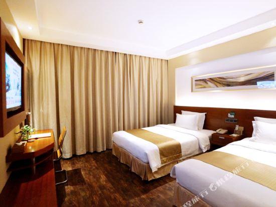 麥新格精品酒店(上海國際旅遊度假區浦東機場川沙店)(Maixin'ge Boutique Hotel (Shanghai International Tourism Resort Pudong Airport Chuansha))行政雙床房