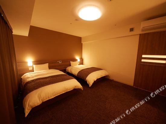 名古屋榮多米豪華酒店(Dormy Inn Premium Nagoya Sakae)轉角雙床房