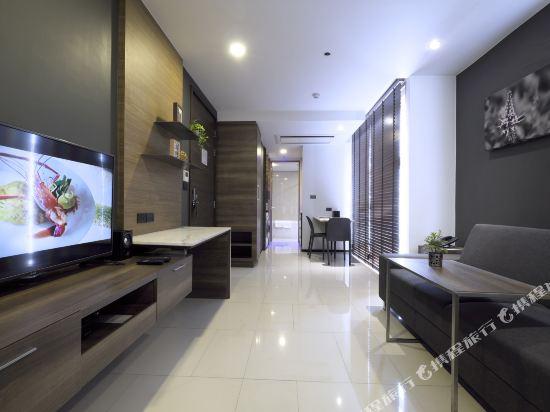 曼谷利特公寓(LiT BANGKOK Residence)一卧室高級套房