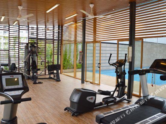 吉隆坡輝煌酒店(Vivatel Kuala Lumpur)健身房
