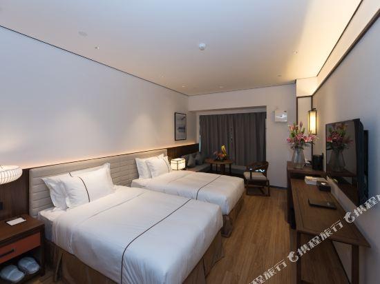 佛山順德美的總部華軒裏酒店(H'ELite Hotel)商務雙床房