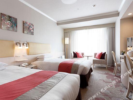 東京東急澀谷卓越大飯店(Shibuya Excel Hotel Tokyu Tokyo)女生高級雙床房