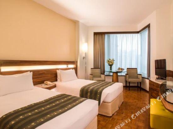 香港如心銅鑼灣海景酒店(L'hotel Causeway Bay Harbour View Hong Kong)標準雙床間 - 帶摺疊床
