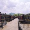 輝南龍堡火車旅館
