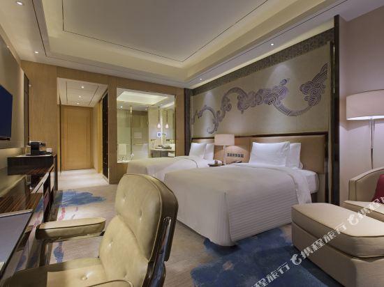東莞萬達文華酒店豪華雙床房