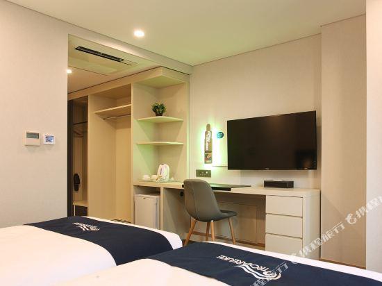 空中花園東大門金斯敦酒店(Hotel Skypark Kingstown Dongdaemun)陽台雙床房